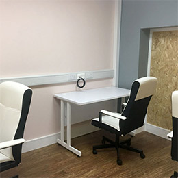 Creative 65 Edenderry Co. Offaly Remote work office space, hot-desk, meeting space and eHub 3 desk unit